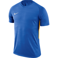 Nike Tiempo Premier Shirt Korte Mouw - Royal / Geel