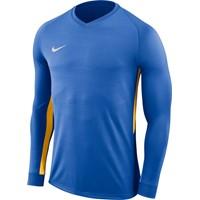 Nike Tiempo Premier Voetbalshirt Lange Mouw - Royal / Geel