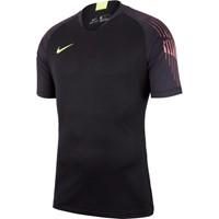 Nike Gardien Keepershirt Korte Mouw - Zwart / Fluogeel
