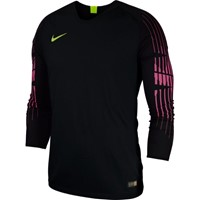Nike Gardien Keepershirt Lange Mouw - Zwart / Fluogeel