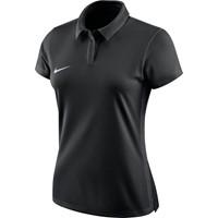Nike Academy 18 Polo Dames - Zwart / Antraciet