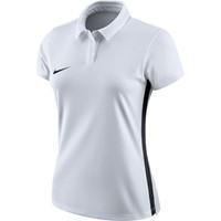 Nike Academy 18 Polo Dames - Wit / Zwart