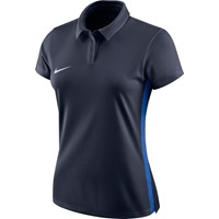 Nike Academy 18 Polo Dames - Marine / Royal