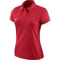 Nike Academy 18 Polo Dames - Rood