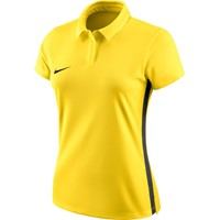 Nike Academy 18 Polo Dames - Geel / Antraciet