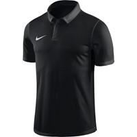 Nike Academy 18 Polo - Zwart / Antraciet