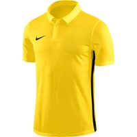 Nike Academy 18 Polo - Geel / Antraciet