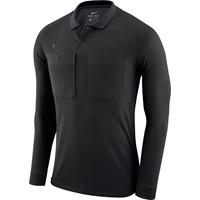 Nike Dry Scheidsrechtersshirt Lange Mouw - Zwart