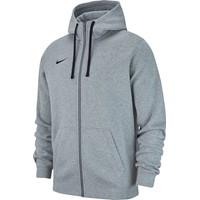 Nike Club 19 Sweater Met Rits Kinderen - Grijs Gemeleerd
