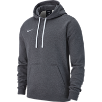 Nike Club 19 Sweater Met Kap Kinderen - Charcoal