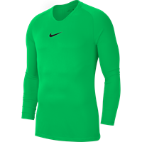 Nike Park First Layer Shirt Lange Mouw - Green Spark