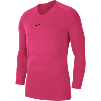 Nike Park First Layer Shirt Lange Mouw - Roze