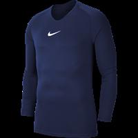 Nike Park First Layer Shirt Lange Mouw Kinderen - Marine