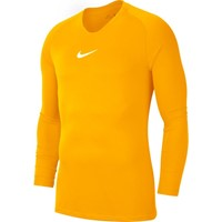 Nike Park First Layer Shirt Lange Mouw - Geel