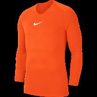 Nike Park First Layer Shirt Lange Mouw Kinderen - Oranje