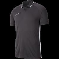 Nike Academy 19 Polo - Antraciet