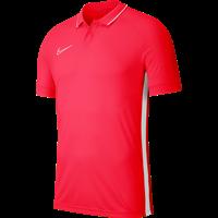 Nike Academy 19 Polo - Fluorood