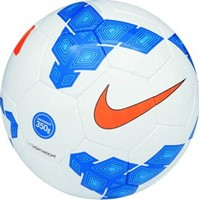 Nike 350g (5) Voetbal - White / Blue / Orange