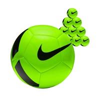 Nike Pitch Team 10x Ballenpakket - Groen / Zwart
