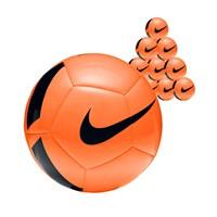 Nike Pitch Team 10x Ballenpakket - Oranje / Zwart