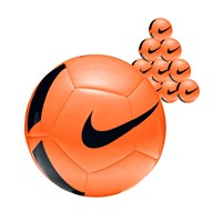 Nike Pitch Team 50x Ballenpakket - Oranje / Zwart