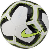 Nike Strike Team Trainingsbal - Wit / Fluogeel