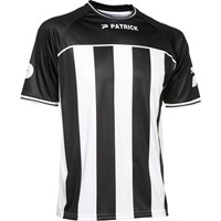 Patrick Coruna Shirt Korte Mouw - Zwart / Wit