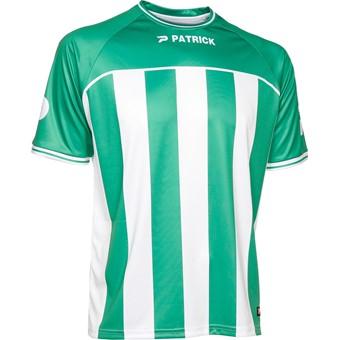 Picture of Patrick Coruna Shirt Korte Mouw Kinderen - Groen / Wit