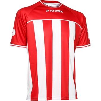 Picture of Patrick Coruna Shirt Korte Mouw Kinderen - Rood / Wit
