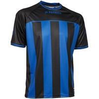 Patrick Coruna Shirt Korte Mouw - Zwart / Royal