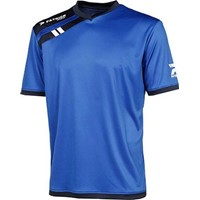 Patrick Force Shirt Korte Mouw Kinderen - Royal / Marine
