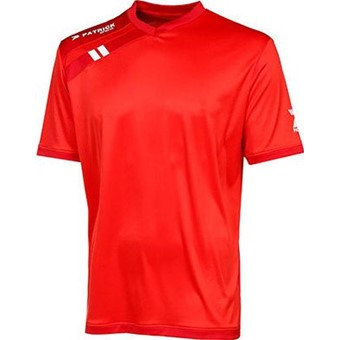 Picture of Patrick Force Shirt Korte Mouw - Rood / Donkerrood