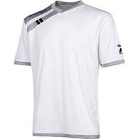 Patrick Force Shirt Korte Mouw Kinderen - Wit / Grijs