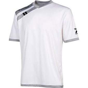 Picture of Patrick Force Shirt Korte Mouw - Wit / Grijs