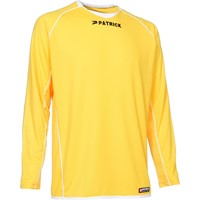 Patrick Girona105 Voetbalshirt Lange Mouw Kinderen - Geel / Wit