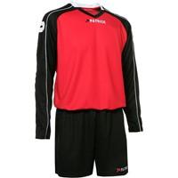 Patrick Granada305 Voetbalset Lange Mouw - Rood / Zwart / Wit