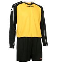 Patrick Granada305 Voetbalset Lange Mouw - Geel / Zwart / Wit