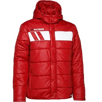 Picture of Patrick Impact Coach Jacket - Rood / Wit