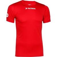 Patrick Power Shirt Korte Mouw - Rood