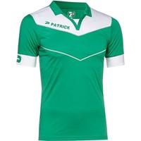 Patrick Power Shirt Korte Mouw - Groen / Wit
