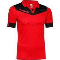 Patrick Power Shirt Korte Mouw - Rood / Zwart