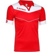 Patrick Power Shirt Korte Mouw - Rood / Wit