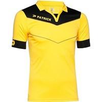 Patrick Power Shirt Korte Mouw - Geel / Zwart