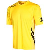 Patrick Sprox Shirt Korte Mouw - Geel