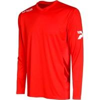 Patrick Sprox Voetbalshirt Lange Mouw Kinderen - Rood