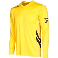 Patrick Sprox Voetbalshirt Lange Mouw Kinderen - Geel