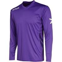 Patrick Sprox Voetbalshirt Lange Mouw - Paars