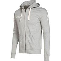 Patrick Sprox Sweater Met Rits - Grijs Gemeleerd