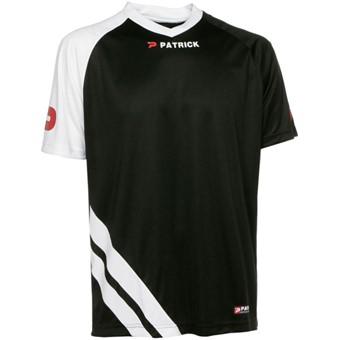Picture of Patrick Victory Shirt Korte Mouw - Zwart / Wit