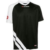Patrick Victory Shirt Korte Mouw Kinderen - Zwart / Wit